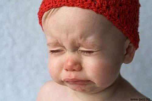 bébé en souffrance